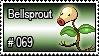 069 - Bellsprout by PokeStampsDex