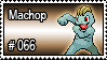 066 - Machop by PokeStampsDex