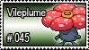 045 - Vileplume by PokeStampsDex