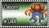 044 - Gloom by PokeStampsDex