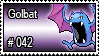 042 - Golbat by PokeStampsDex