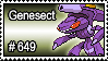 649 - Genesect by PokeStampsDex