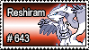 643 - Reshiram by PokeStampsDex