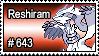 643 - Reshiram by PokeStampsDex