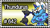 642 - Thundurus by PokeStampsDex