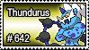 642 - Thundurus by PokeStampsDex