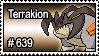 639 - Terrakion