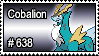 638 - Cobalion by PokeStampsDex