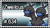 634 - Zweilous by PokeStampsDex