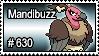 630 - Mandibuzz by PokeStampsDex