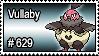 629 - Vullaby by PokeStampsDex