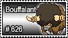 626 - Bouffalant by PokeStampsDex