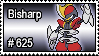 625 - Bisharp by PokeStampsDex