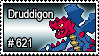 621 - Druddigon by PokeStampsDex