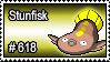 618 - Stunfisk by PokeStampsDex