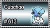 613 - Cubchoo by PokeStampsDex