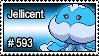 593 - Jellicent by PokeStampsDex