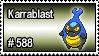 588 - Karrablast