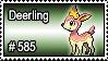 585 - Deerling by PokeStampsDex