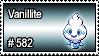 582 - Vanillite by PokeStampsDex
