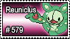 579 - Reuniclus by PokeStampsDex