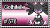 576 - Gothitelle by PokeStampsDex