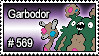 569 - Garbodor by PokeStampsDex