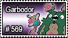 569 - Garbodor by PokeStampsDex