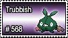 568 - Trubbish by PokeStampsDex