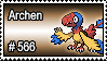 566 - Archen by PokeStampsDex