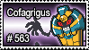 563 - Cofagrigus by PokeStampsDex
