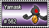 562 - Yamask by PokeStampsDex