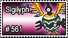 561 - Sigilyph by PokeStampsDex