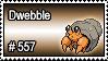 557 - Dwebble