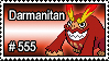 555 - Darmanitan by PokeStampsDex