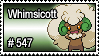 547 - Whimsicott by PokeStampsDex