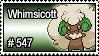 547 - Whimsicott