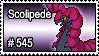 545 - Scolipede