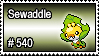 540 - Sewaddle by PokeStampsDex