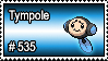 535 - Tympole by PokeStampsDex