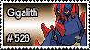 526 - Gigalith