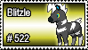 522 - Blitzle by PokeStampsDex