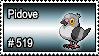 519 - Pidove by PokeStampsDex
