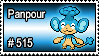 515 - Panpour by PokeStampsDex