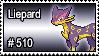 510 - Liepard by PokeStampsDex