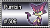 509 - Purrloin by PokeStampsDex