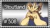 508 - Stoutland by PokeStampsDex