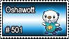 501 - Oshawott by PokeStampsDex