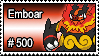 500 - Emboar by PokeStampsDex