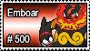 500 - Emboar by PokeStampsDex